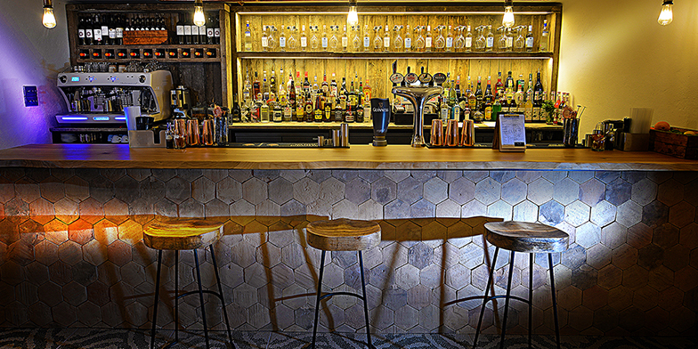 Oak Bar tops